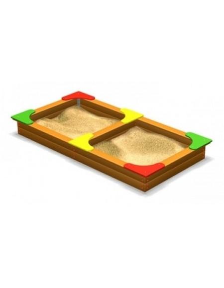 Детская песочница двойная (DIO205)