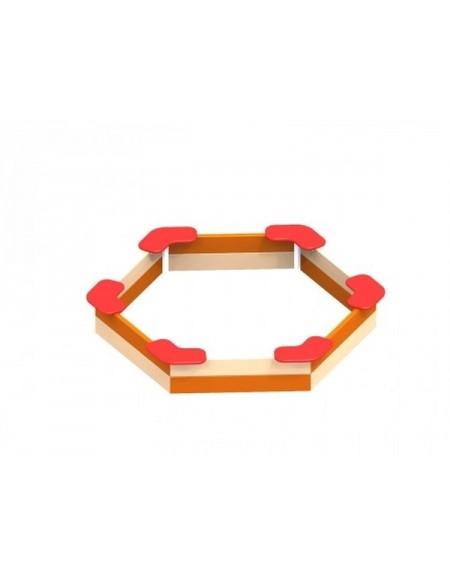 Детская песочница шестиугольная (DIO206)