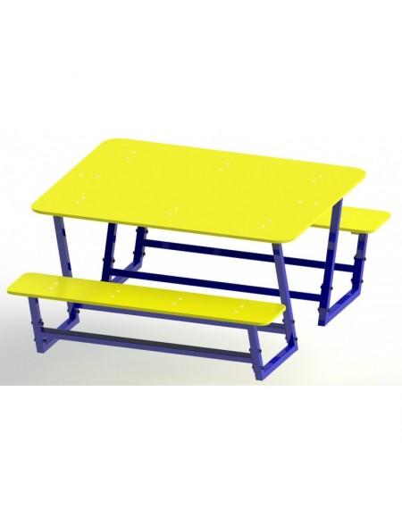 Стол со скамейками (DIO-213)