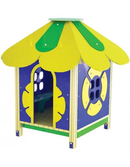 Детский деревянный домик TE304
