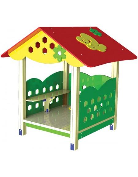 Детский деревянный домик TE305