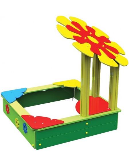 Песочница для детей из дерева  Цветок