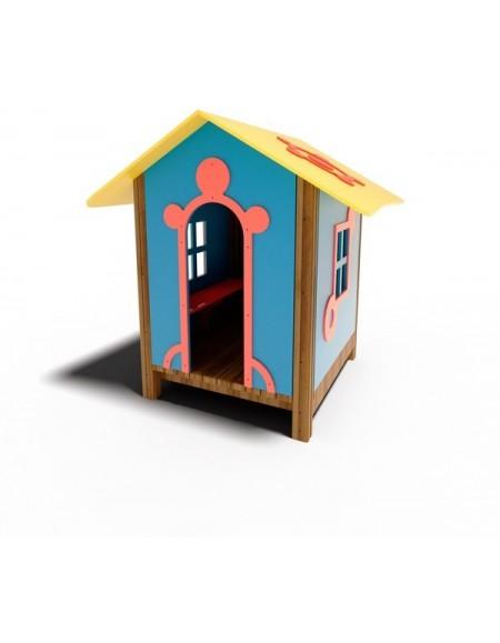 Детский деревянный домик T306