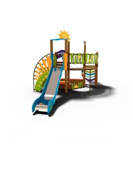 Детский игровой комплекс  Ручеек-2  TE702