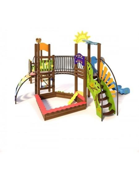 Детский игровой комплекс  Ручеек-3  TE704