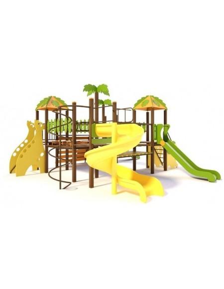 Детский игровой комплекс  Джунгли  T809