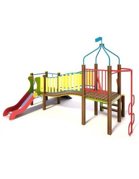 Игровой комплекс для детей  Мостик  ТЕ811