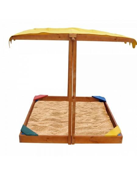 Детская песочница из дерева Сахара