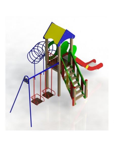 Детский игровой комплекс Кузя (DIO701.2)