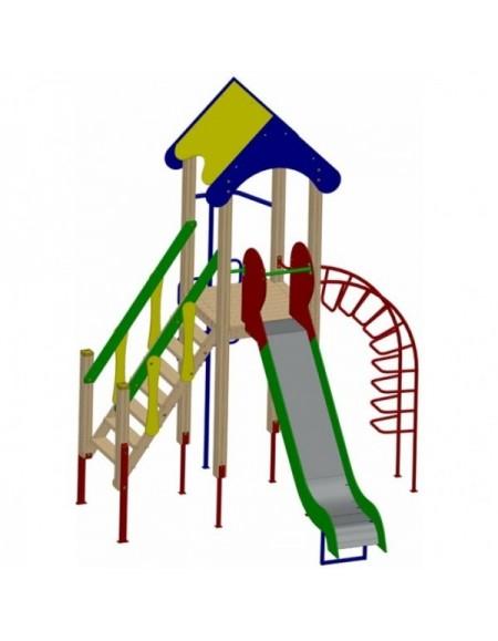Детский игровой комплекс однобашенный (DIO701)