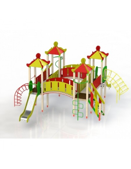Детский игровой комплекс Мегагном  (DIO708)