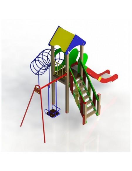 Детский игровой комплекс Лунтик (DIO804.1)