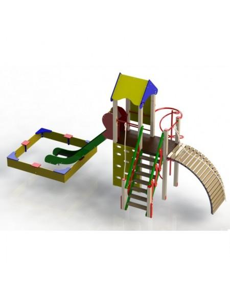 Детский игровой комплекс Пирамида (DIO807)