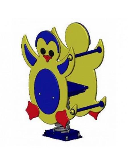 Качалка на пружине для дачи Пингвин  (DIO103)