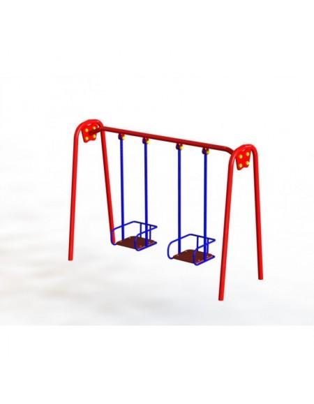 Детская качель двойная металлическая (DIO-312)