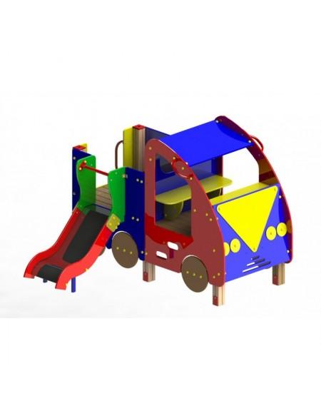 Детский игровой комплекс с горкой Авто  (DIO401)