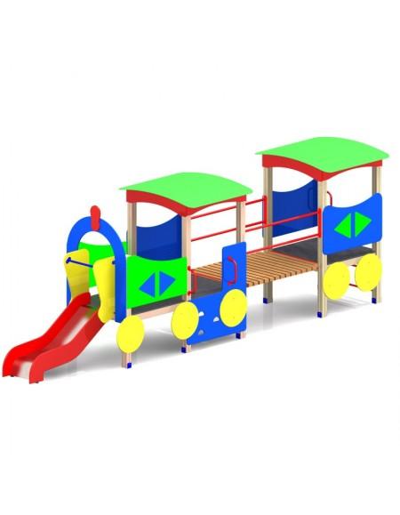 Детский игровой комплекс Паровозик большой (DIO-404)