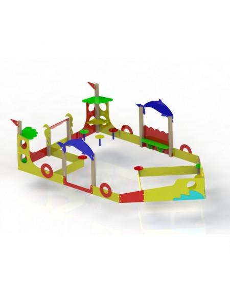 Детский игровой комплекс Кораблик (DIO-408)