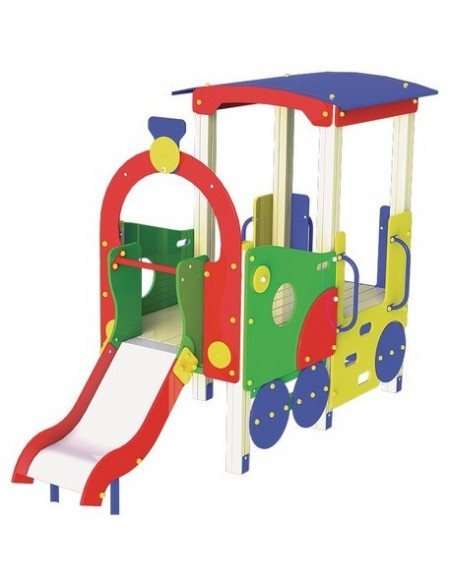 Детский игровой комплекс Паровозик с горкой T502