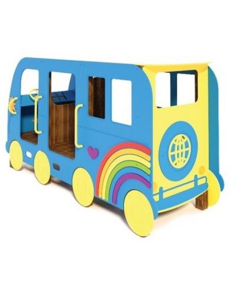 Детский игровой комплекс Автобус Мир T511