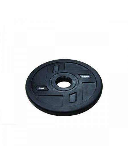 Диски для штанги, гантелей Alex 4 Holes TPU Olympic Plate 5 кг