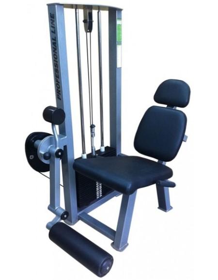 Грузоблочный тренажер для мышц разгибателей бедра, сидя ( ТС-204)