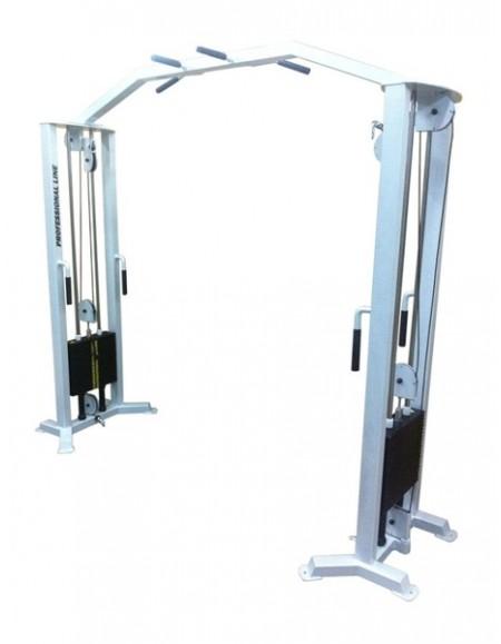Грузоблочный тренажер Блочная рамка двойная, кроссовер (ТС-206)