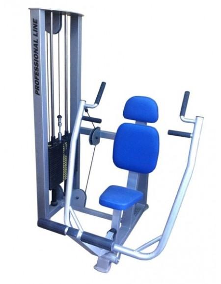 Грузоблочный тренажер Жим горизонтальный для мышц груди (ТС-222)
