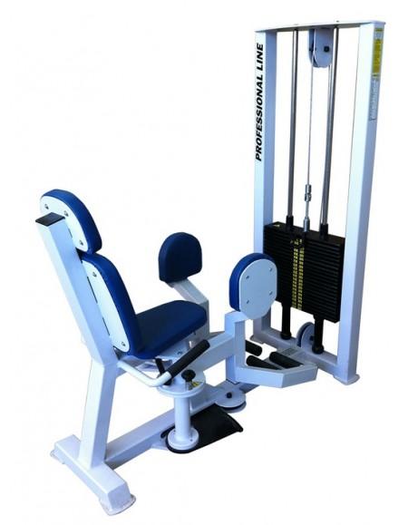 Грузоблочный тренажер для отводящих мышц бедра, разведение ног ( ТС-208)