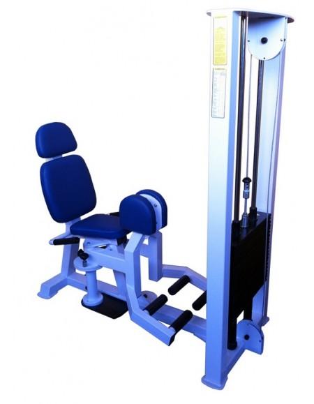 Грузоблочный тренажер для приводящих мышц бедра, сведение ног ( ТС-209)