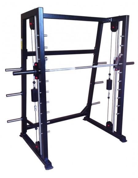 Тренажер на свободных весах Машина Смита с противовесом  (ТС-301.1)