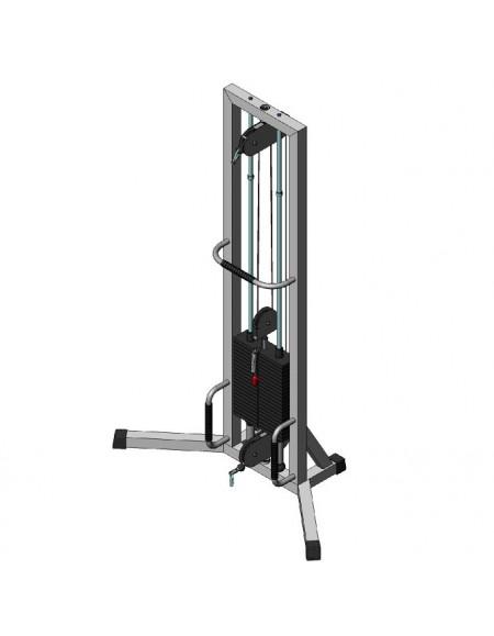 Многофункциональный тренажер для спины Блочная рамка двойная на 105 кг (TB130-105)