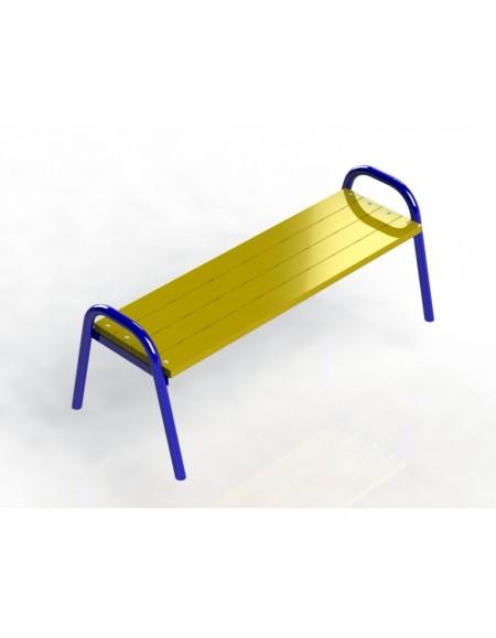 Скамейка парковая без спинки