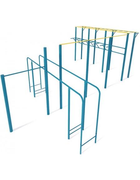 Гимнастический комплекс для стрит воркаут площадки (street workout) W205.2