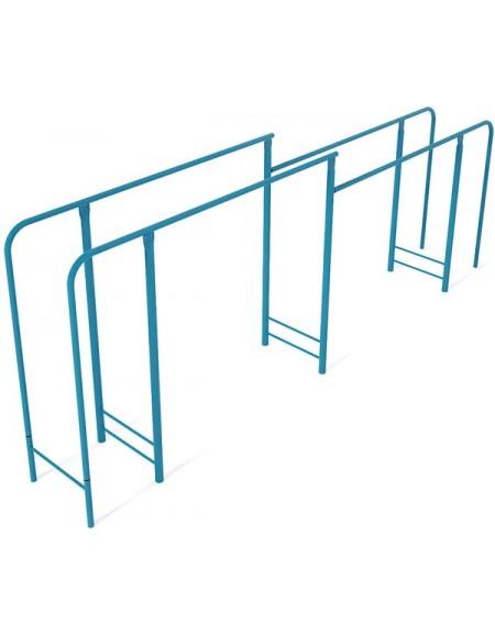 Брусья параллельные двухуровневые для воркаут площадки (street workout)